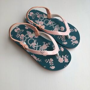 Roxy Floral Sandals - Toddler size 10
